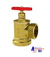 Клапан  угловой КПЛ-50 латунный (муфта/цапка)