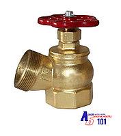 Клапан  угловой КПЛ-65 латунный (муфта/цапка)
