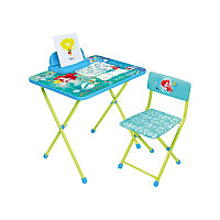 НИКА Набор мебели ЗОЛУШКА (стол складн+пенал+стул мягк )