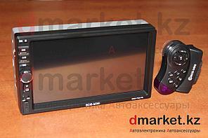 Автомагнитола Bos-Mini 7631, 2DIN, USB, AUX, MP3, Bluetooth, камера в подарок