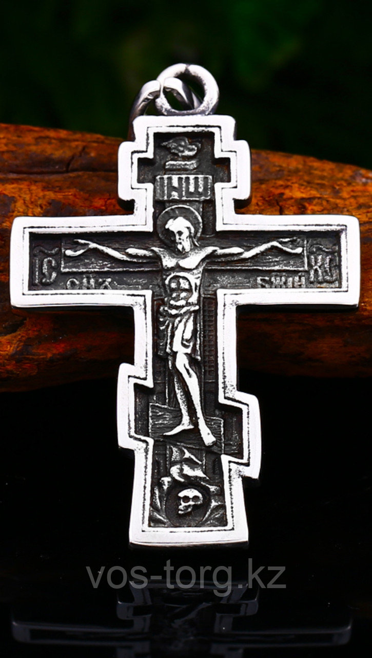 """Кулон-крестик  """"Православный Крест"""""""
