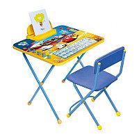 НИКА Набор мебели ТАЧКИ (стол складн+пенал,стул)