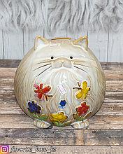 """Копилка """"Кошка"""". Материал: Керамика. Цвет: Разные цвета."""