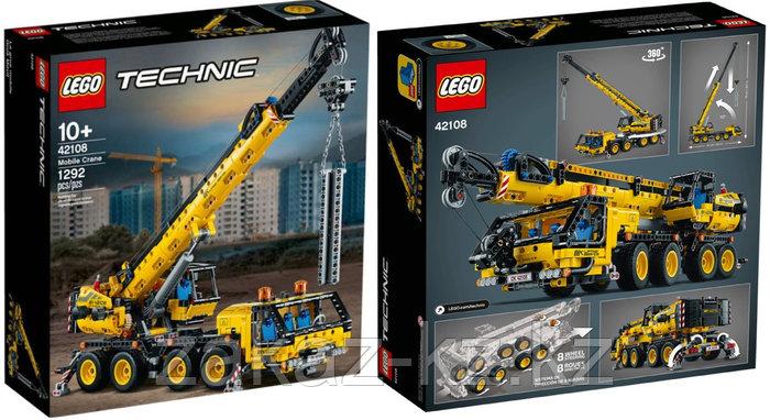 Конструктор Лего Техник 42108 Кран мобильный