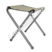 Складной стул туристический 30х24.5 см высота 34 см бежевое полотнище