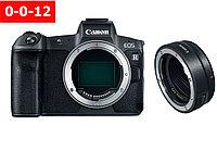 Цифровой фотоаппарат Canon EOS R Body + Mount Adapter EF-EOS R (гарантия 2 года + страховка)