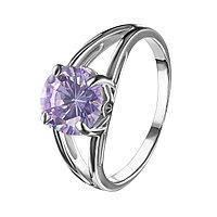 Серебряное кольцо с фианитом Красная пресня 2387642Д6