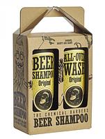 Подарочный набор Chemical Barbers Beer Shampoo Gift Set Original 2х440 мл