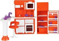 Кукольная мебель для кухни «Конфетти», Огонек