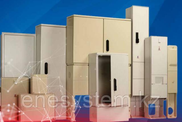 Одиночные шкафы из полиэстера (свободностоящие) IP 44, 54