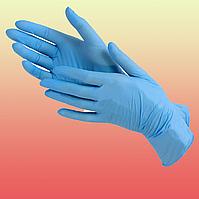 Одноразовые перчатки нитрил