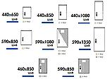 Одиночные шкафы из полиэстера (свободностоящие) IP 44, 54, фото 5