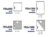 Одиночные шкафы из полиэстера (свободностоящие) IP 44, 54, фото 6