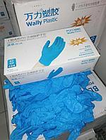 Медицинские перчатки, нитриловые/виниловые Wally Plastic/Валли Пластик