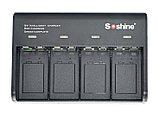 Зарядное устройство + 4 аккумулятора 8,4V 6F22 650 mАh (Soshine), фото 2