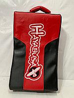Макивара для отработки ударов Hayabusa кожа (чёрно-красный)