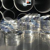 Фланцы плоские нержавеющие, сталь 12Х18Н10Т, ГОСТ 33259-2015, фото 1