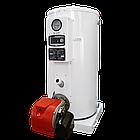 Котёл Cronos BB-535 для отопления и ГВС на жидком топливе в комплекте с горелкой  (Южная Корея), фото 3