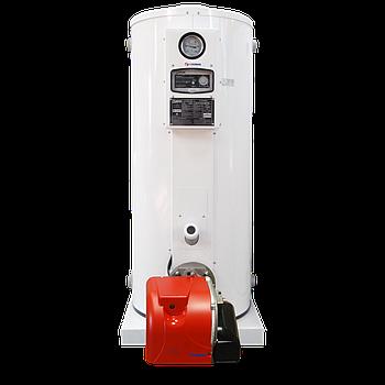 Котёл газовый Cronos BB-735 (81кВт) для отопления и ГВС в комплекте с газовой горелкой (Южная Корея)