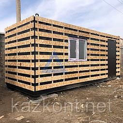 Дом из контейнеров (дачный домик)