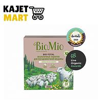 Таблетки BIOMIO для посудомоечной машины с маслом эвкалипта 30шт