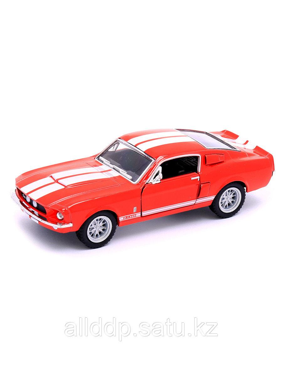 "Модель машины ""Shelby GT-500 1967"" 1:38 KT5372 KINSMART"