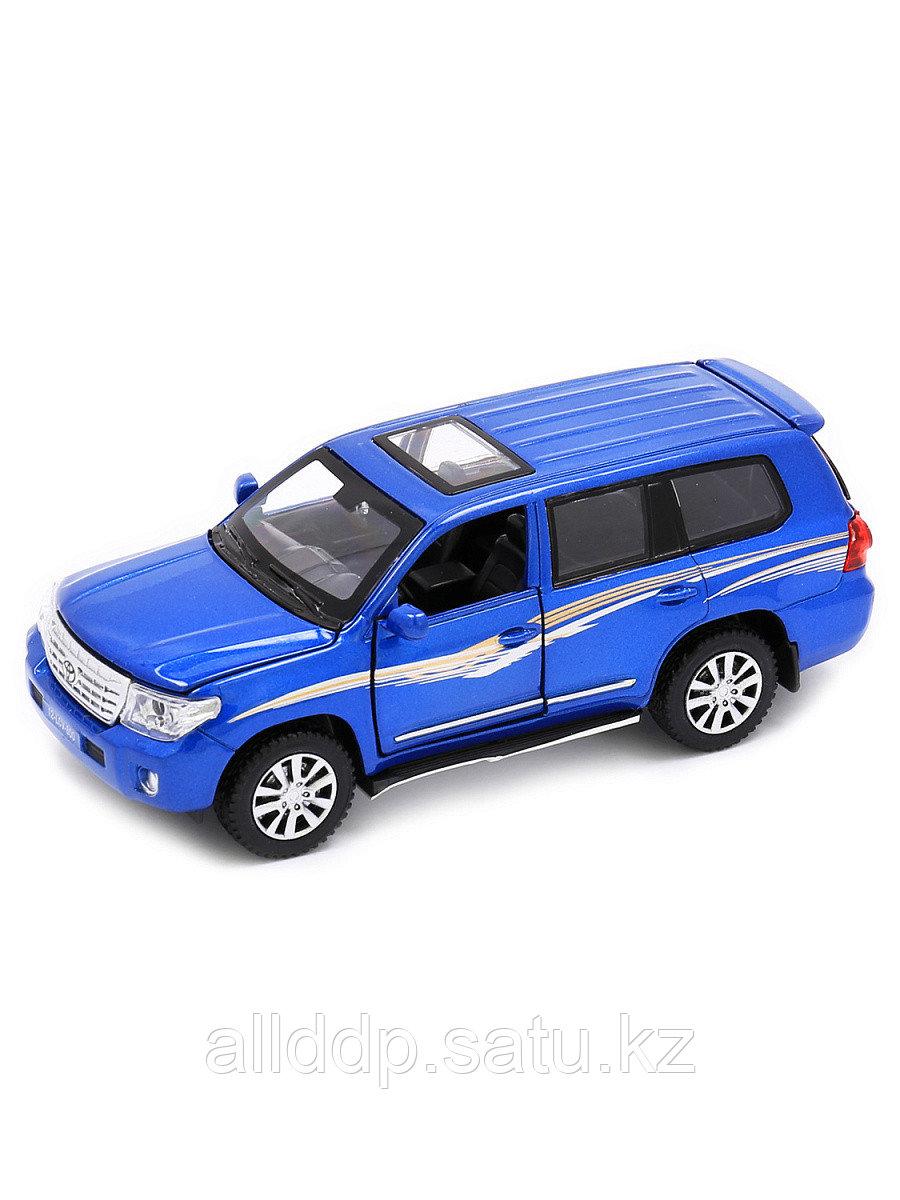 Модель машины Toyota Land Cruiser 1:32 (15,5см) свет,звук, инерция 32131