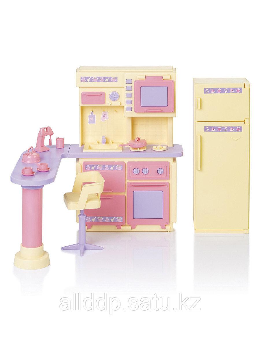 """Мебель для куклы Кухня """"Маленькая принцесса"""" С-1437 Огонек"""