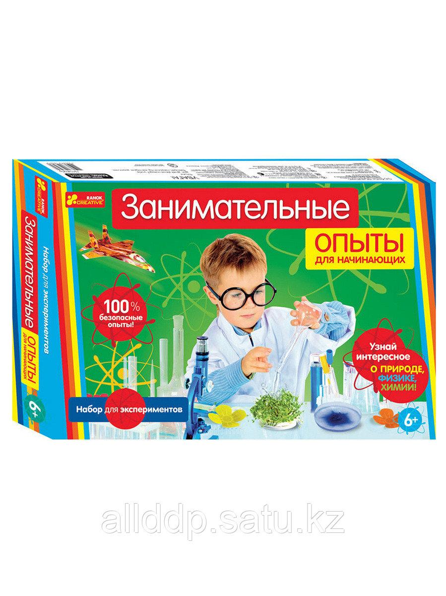 Наборы для экспериментов Занимательные опыты для начинающих 12114020P РАНОК