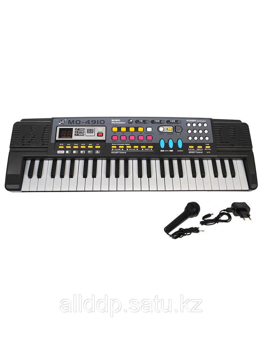 Синтезатор с микрофоном 49кл MQ-4914