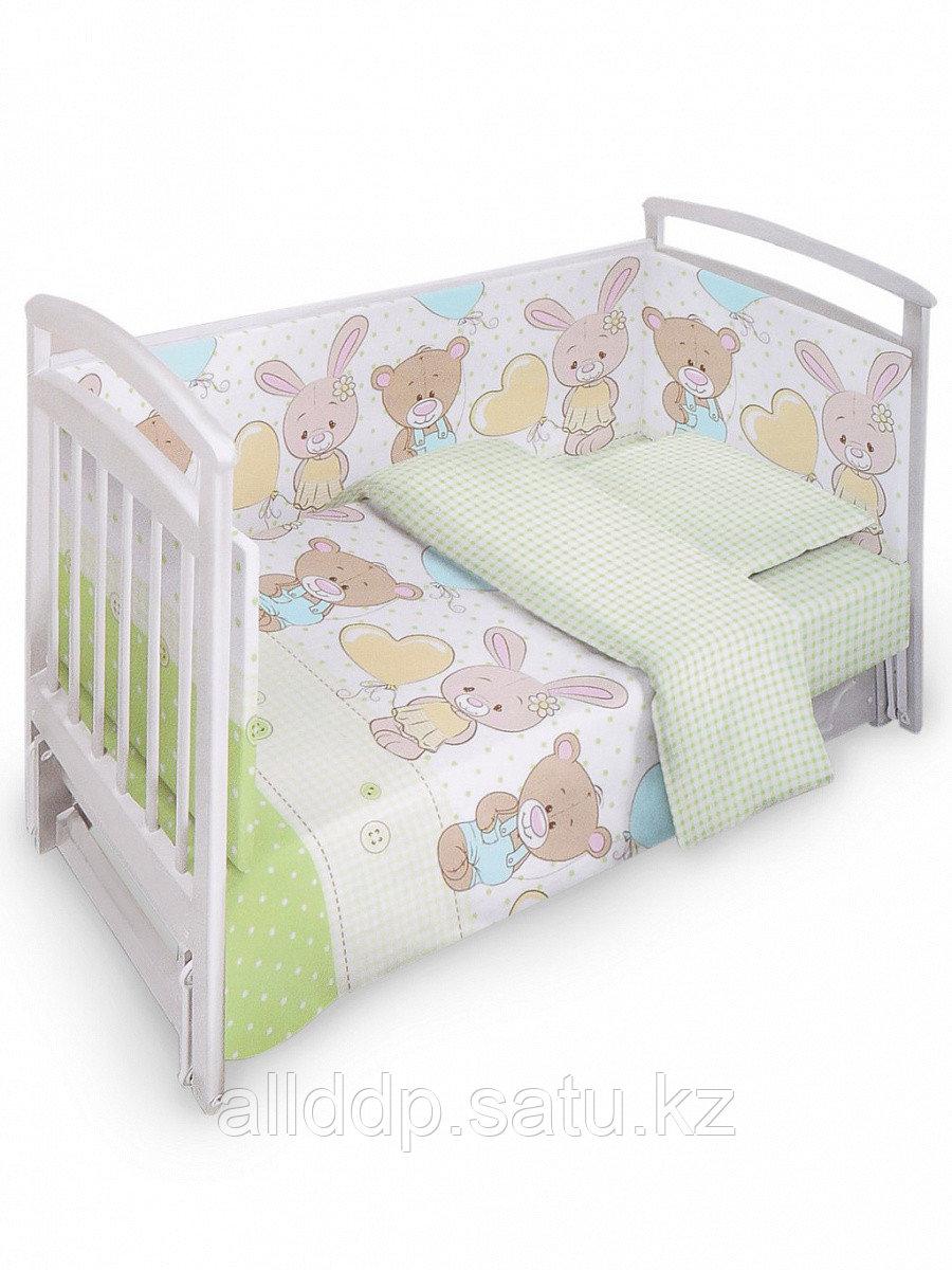 Комплект в кроватку Fun Ecotex Мишутка и Степашка