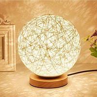 Лампа-ночник Lumen «Клубок нитей» с питанием от сети (Белый / G84)