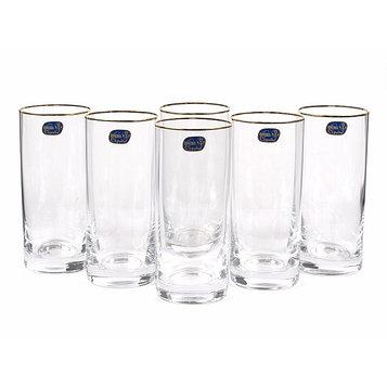 Набор стаканов для воды «Барлайн», 300 мл, 6 шт.