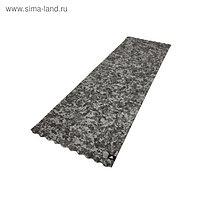 Текстурированный тренировочный коврик (мат) Adidas, цвет серый камуфляж