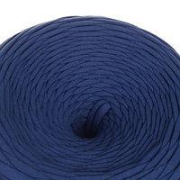 Трикотажная лента 'Лентино' лицевая 100м/320±15гр, 7-8 мм (индиго)