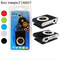 MP3-плеер мини с наушниками на клипсе в ассортименте