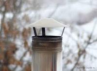 Зонт-Д 0,5 (430/0,5). Ф200. (по дыму). Ferrum., фото 1