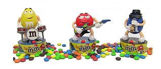 Игрушка Музканты M&M's Rock Stars игрушка + 45гр конфет