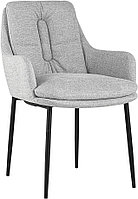 Кресло Stool Group Саманта рогожка светло-серый