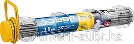 Электрод сварочный ЗОК-46 с рутил-целлюлозным покрытием, для ММА сварки, d 3.0 х 350 мм, 1,5 кг в ПВХ туб ЗУБР