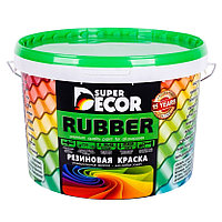 Резиновая краска Супер Декор 1 кг 3, Оранжевое лето