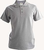 Рубашка поло меланж, 200гр, 100% хлопок, вязка