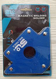 Фиксатор магнитный для сварочных работ, усилие 50Lb/22кг.  SL