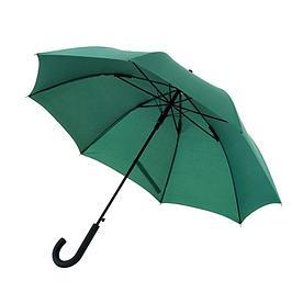 Ветроустойчивый зонт WIND, темно-зеленый