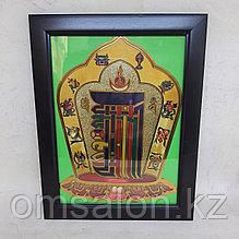 Тибетский оберег Мистическая Монограмма Калачакры, 23*18см