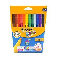 Цветные фломастеры 12 шт Bic Kids visa