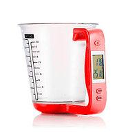 Кухонные весы мерный стакан с термометром электронные LCD-дисплеем Digital measuring cup scale в ассортименте