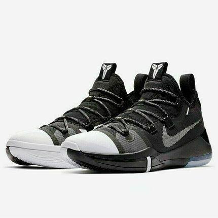 "Баскетбольные кроссовки  Nike Kobe AD Exodus ""Black/White"", фото 2"