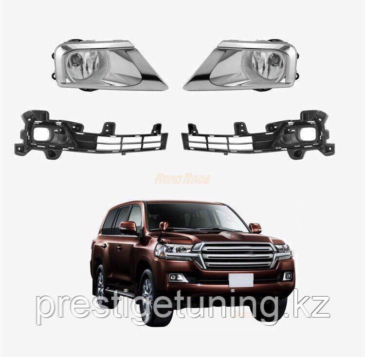 Противотуманные фары OEM style для Toyota Land Cruiser LC200 2016-21