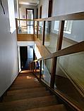 Перила стеклянные для лестниц, фото 2